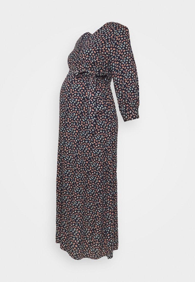 Pieces Maternity - PCMBRENNA ANKEL DRESS  - Vestido informal - maritime blue