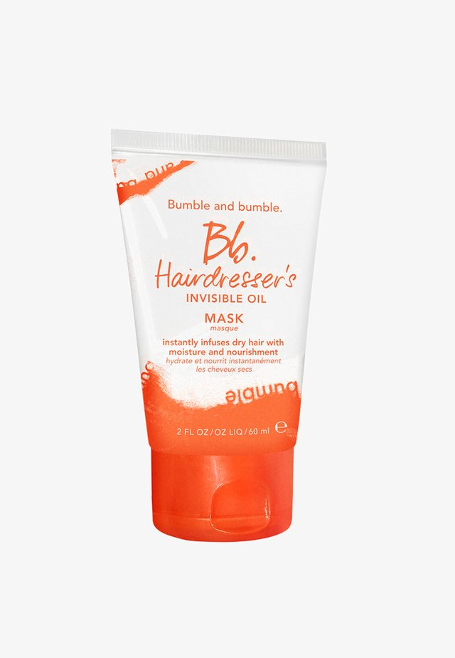HAIRDRESSER'S INVISIBLE OIL MASK TRAVEL SIZE - Haarmasker - -