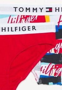 Tommy Hilfiger - 2 PACK - Kalhotky - twilight navy/deep crimson - 2