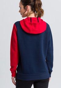 Erima - Hoodie - navy/red/white - 2