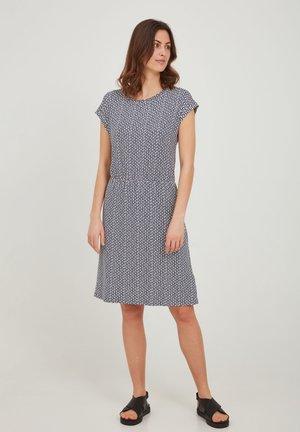 Jersey dress - vintage indigo graphic mix