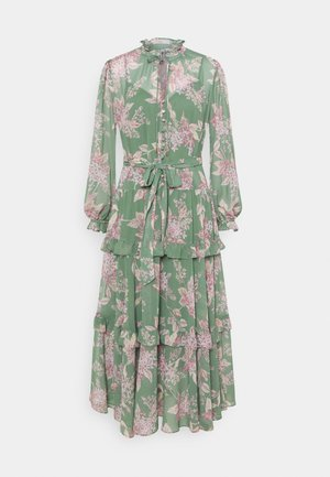 TIERED  - Maxi dress - sage