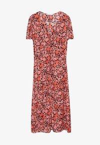 Violeta by Mango - PAPER-I - Day dress - corail - 4