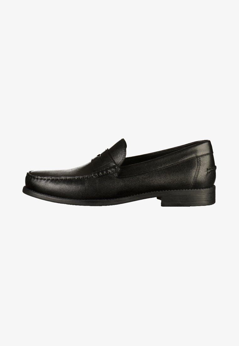 Geox - Elegantní nazouvací boty - black