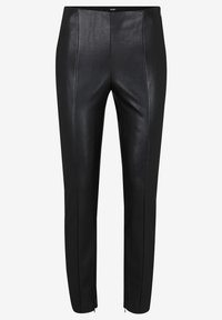 JOOP! - SARA - Leather trousers - black - 9