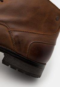 Jack & Jones - JFWORCA  - Lace-up ankle boots - cognac - 5