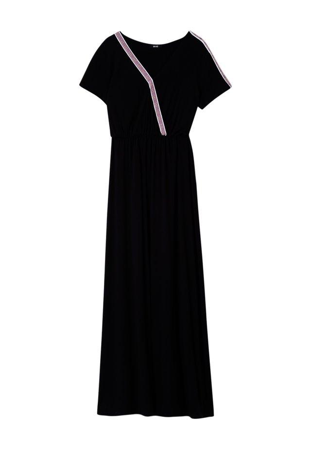 WITH LOGO - Robe d'été - black