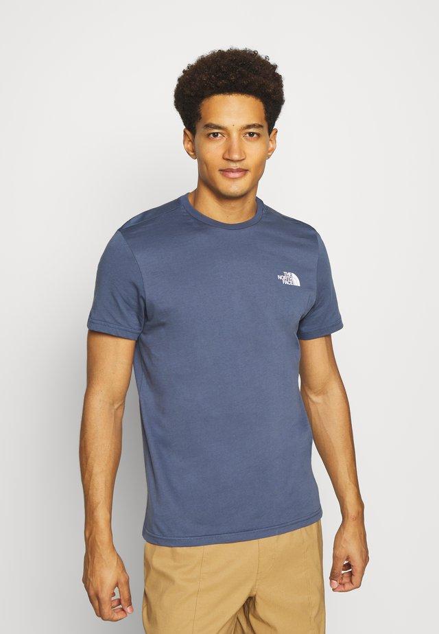 SIMPLE DOME TEE - Basic T-shirt - vintage indigo