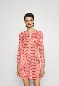 Diane von Furstenberg - REINA DRESS - Jersey dress - red - 0
