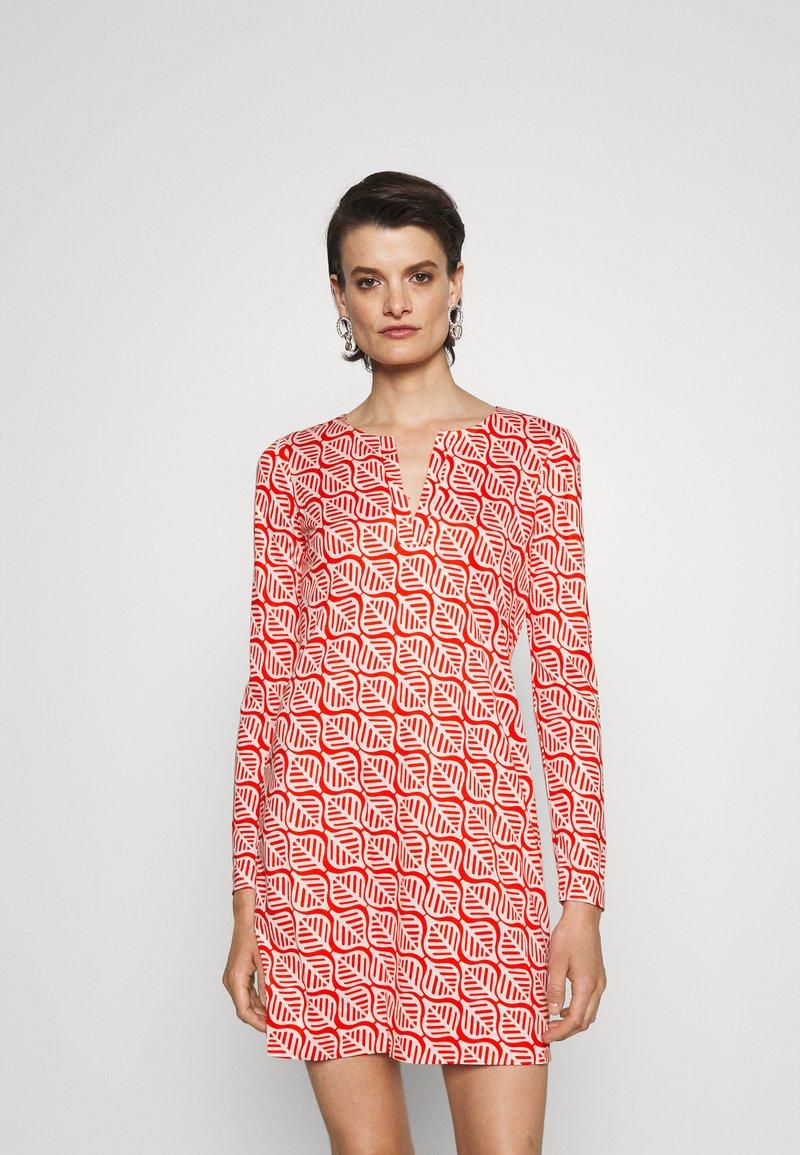 Diane von Furstenberg - REINA DRESS - Jersey dress - red