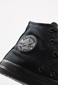 Converse - CHUCK TAYLOR ALL STAR  - High-top trainers - black monochrome - 2