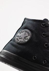 Converse - CHUCK TAYLOR ALL STAR  - Sneakers hoog - black monochrome - 2
