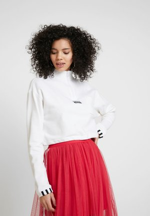 CROPPED - Sweatshirt - white