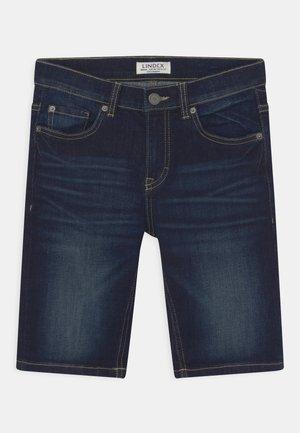 TOM NARROW - Denim shorts - dark denim