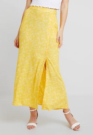 Maxiskjørt - yellow