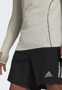adidas Performance - RUNNER LONG-SLEEVE TOP - Long sleeved top - grey - 2