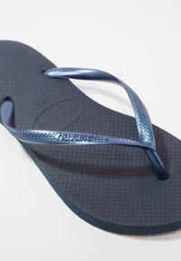 Havaianas - SLIM - Pool shoes - dark blue - 6