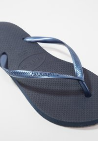 Havaianas - SLIM FIT - Tongs - navy blue - 2