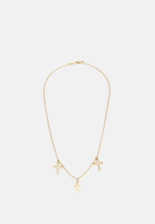 CONFESSION UNISEX - Collana - gold-coloured