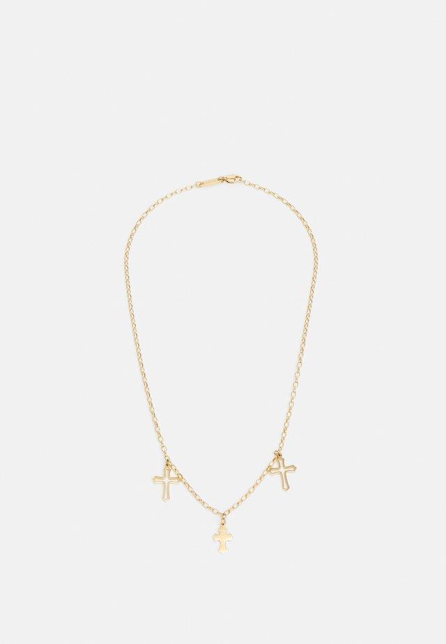 CONFESSION UNISEX - Necklace - gold-coloured