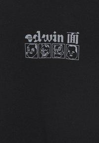 Edwin - HOKUSAI MASKS - Felpa - black - 2