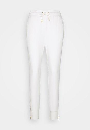 Regular fit joggers with zip detail - Pantalon de survêtement - white