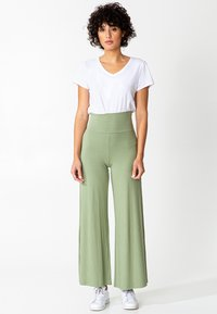Indiska - LILLEMOR - Trousers - green - 1