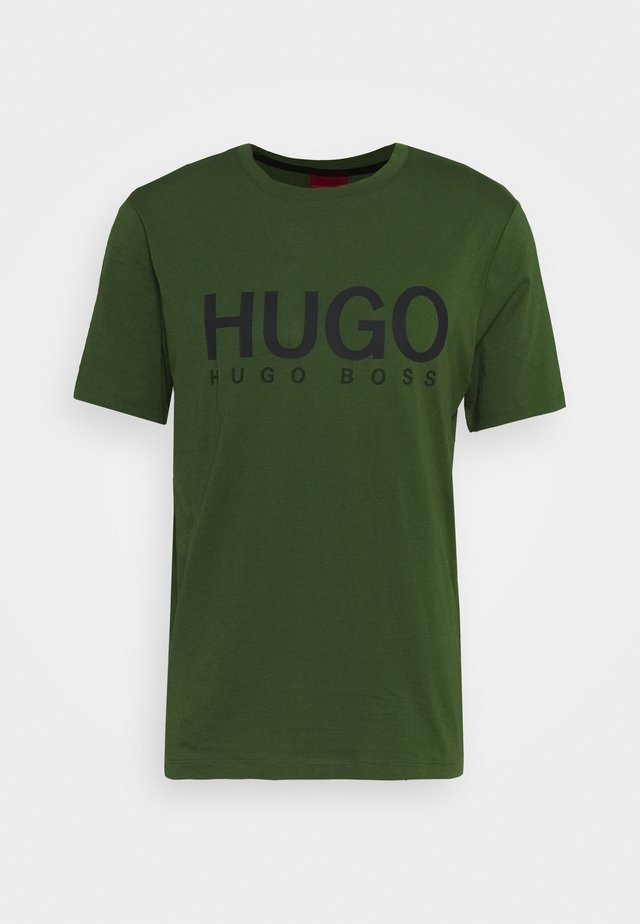DOLIVE - Camiseta estampada - dark green