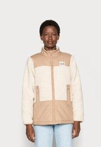 esmé studios - SAMARA PILE JACKET - Winter jacket - bleached sand - 0