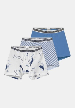 SHORTS 95/5 3 PACK - Pants - blue/light blue