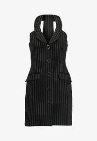 4th & Reckless Petite - MINI DRESS - Shirt dress - black - 4