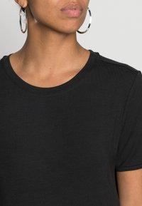 Vero Moda - VMGAVA DRESS - Jerseyklänning - black - 4