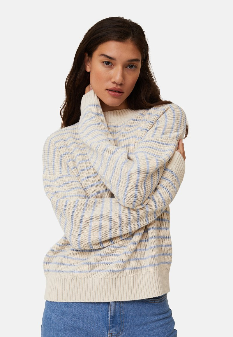 Lexington - SIENNA - Jumper - white/blue stripe