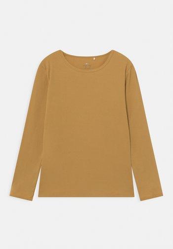 UNISEX - Long sleeved top - mustard