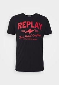 Replay - TEE - Print T-shirt - black - 7