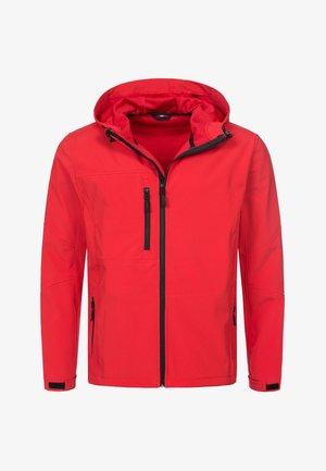 Outdoor jacket - crimson red