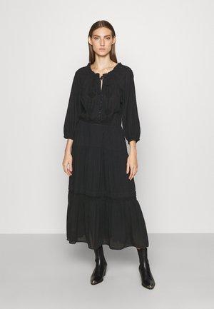DORYLLA 3/4 SLEEVE DAY DRESS - Day dress - black