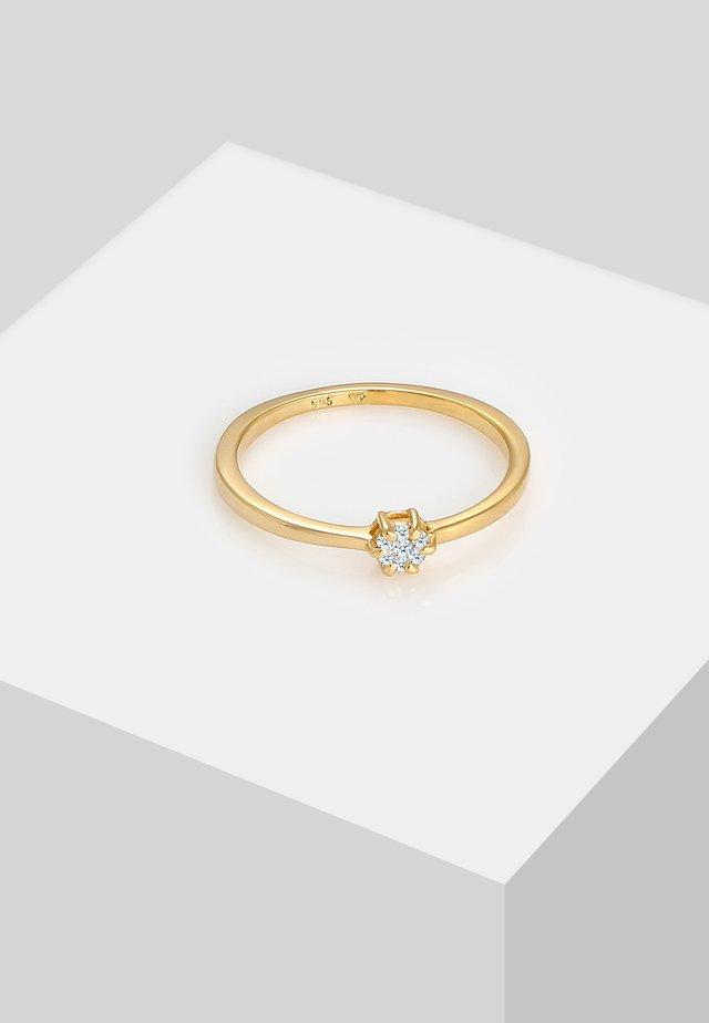 SOLITÄR - Ring - gold-coloured