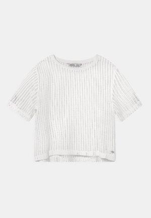 ARETHA - T-shirt print - white