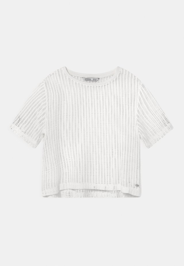 ARETHA - T-shirt imprimé - white