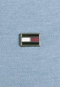 Tommy Hilfiger - INTERLOCK ZIP SLIM  - Polo shirt - colorado indigo - 3