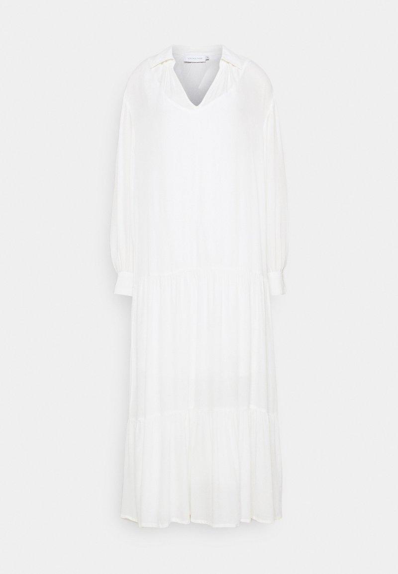 Lounge Nine - LNOTTOLINE DRESS - Maxi šaty - snow white