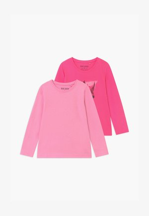 GIRLS STYLE 2 PACK - Long sleeved top - pink