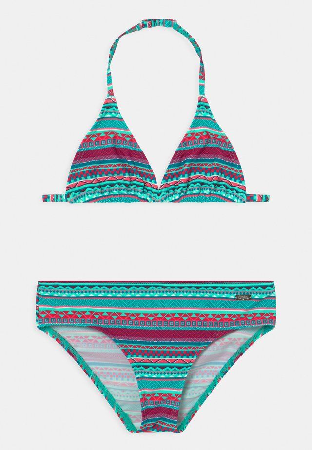 TRIANGEL LUX BUFF SET - Bikini - turquoise