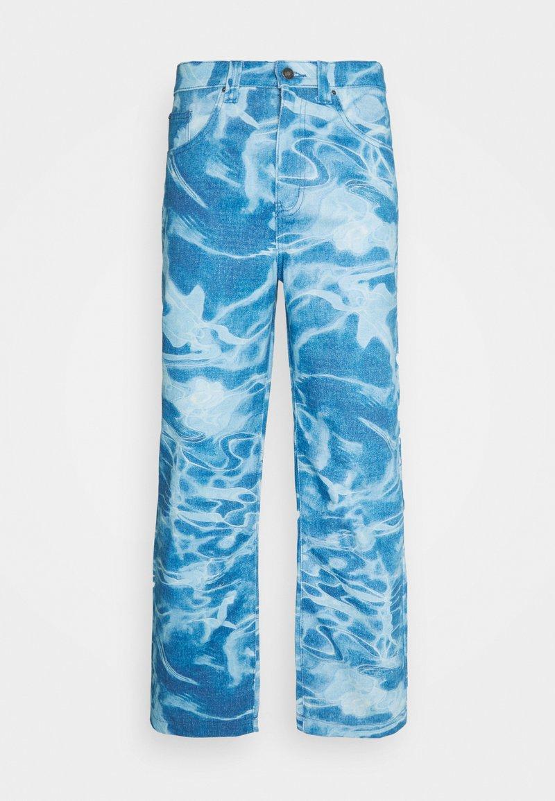 Jaded London - SWIMMING POOL SKATE - Jeans baggy - blue