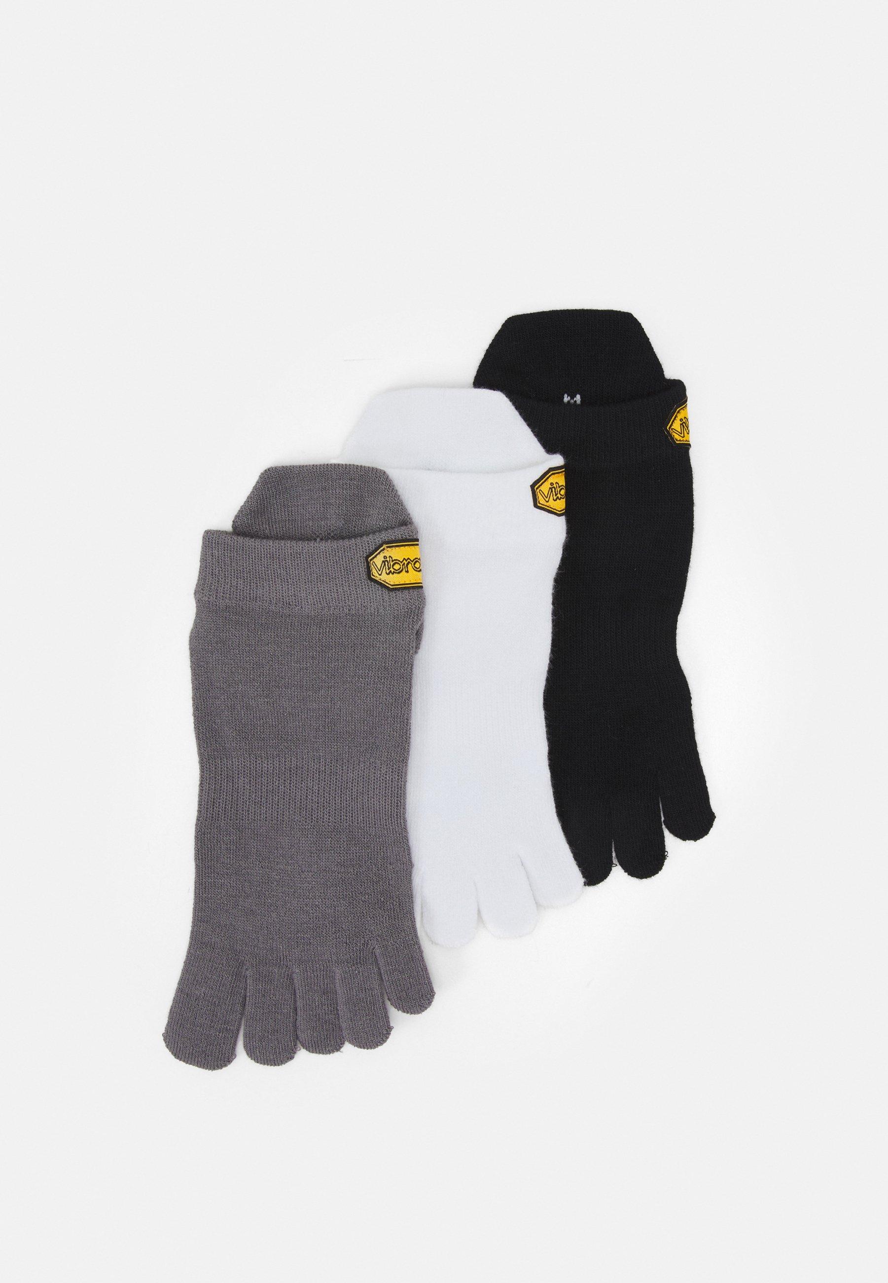 Men NO SHOW MIXED COLOURS 3PACK - Sports socks