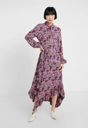 CELIA - Day dress - mahogany