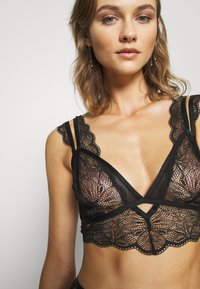 Ann Summers - KNICKERBOX PLANET BY ANN SUMMERS-THE ADMIRER BRALETTE - Bustier - black - 5
