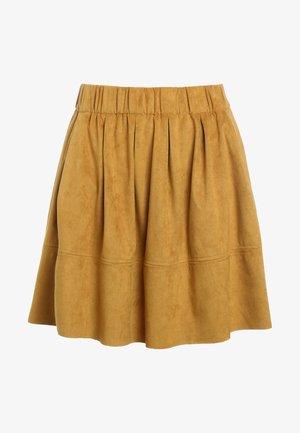 KIA - A-line skirt - mustard yellow