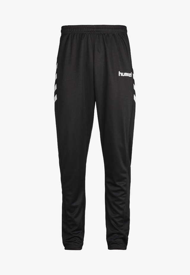 CORE POLY  - Trousers - black